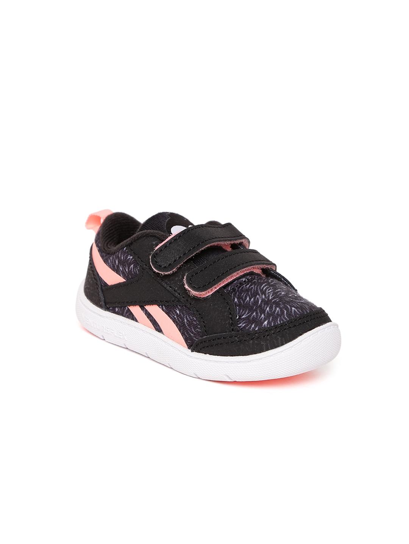 Buy Reebok Classic Kids Black Ventureflex Chase II Sneakers - Casual ... 434322fef