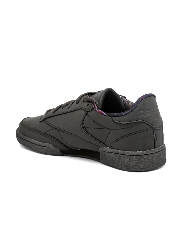 72a6ae308d04 Buy Reebok Classic Men Charcoal Grey Club C 85 TDG Sneakers - Casual ...
