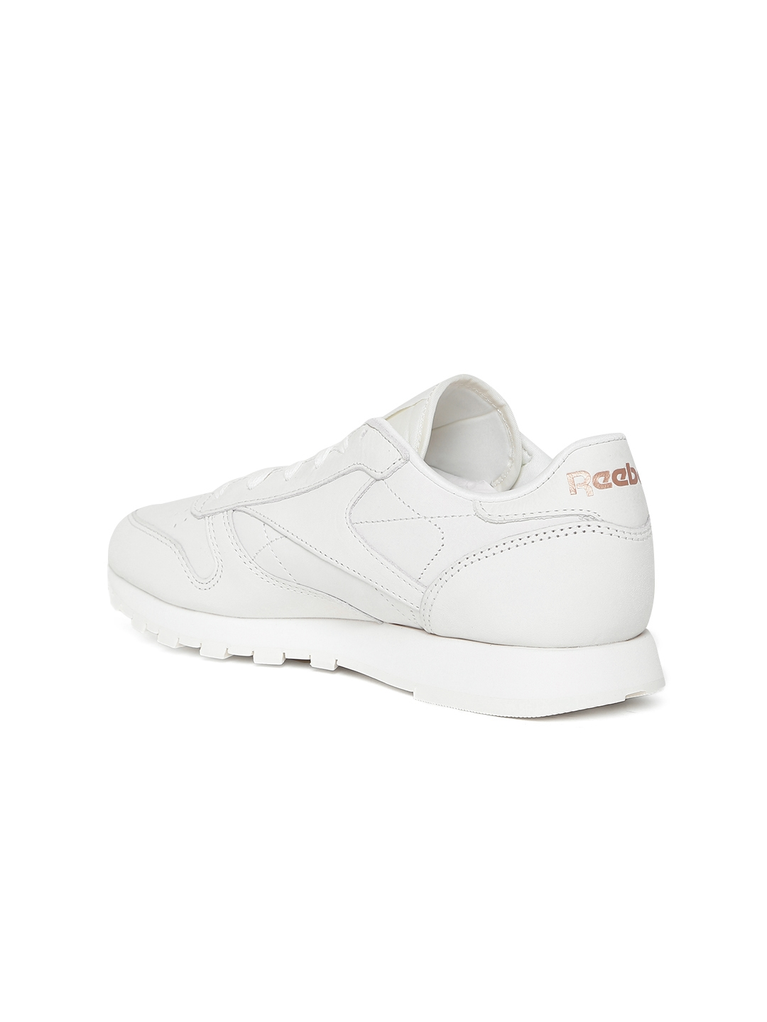 Buy Reebok Classic Women Off White CL Leather FBT Suede Sneakers ... 6bdcb0c60f