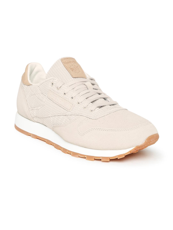 4745855ea7e0 Buy Reebok Classic Men Grey CL EBK Suede Sneakers - Casual Shoes for ...