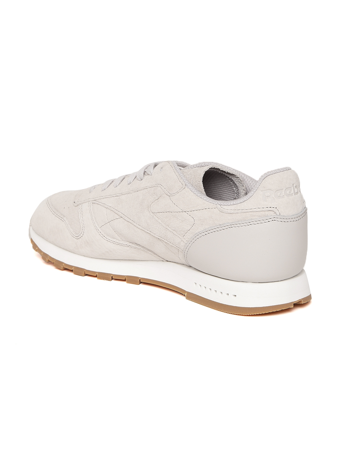 e4ea745876e Buy Reebok Classic Men Beige CL Leather SG Sneakers - Casual Shoes ...