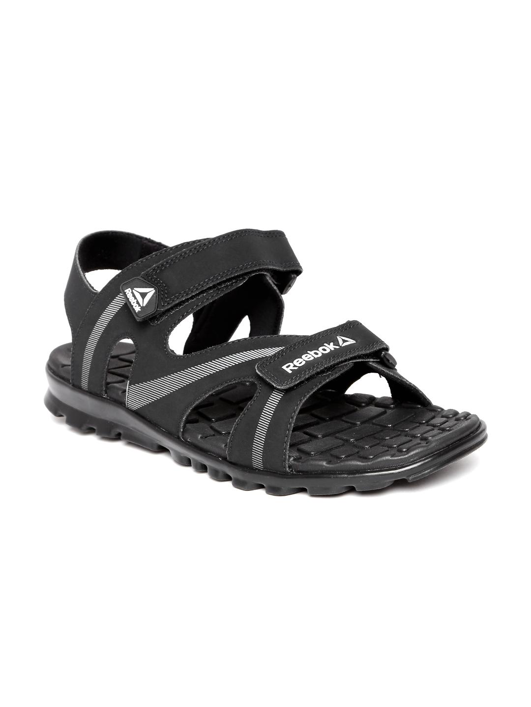 b98e743e79a07c Buy Reebok Men Black Maze Flex Printed Sports Sandals - Sports Sandals for  Men 2003508