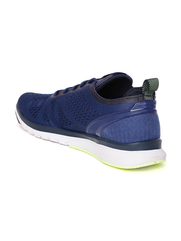 96da5dadbea4b Buy Reebok Men Blue Print Smooth Clip Ultraknit Running Shoes ...
