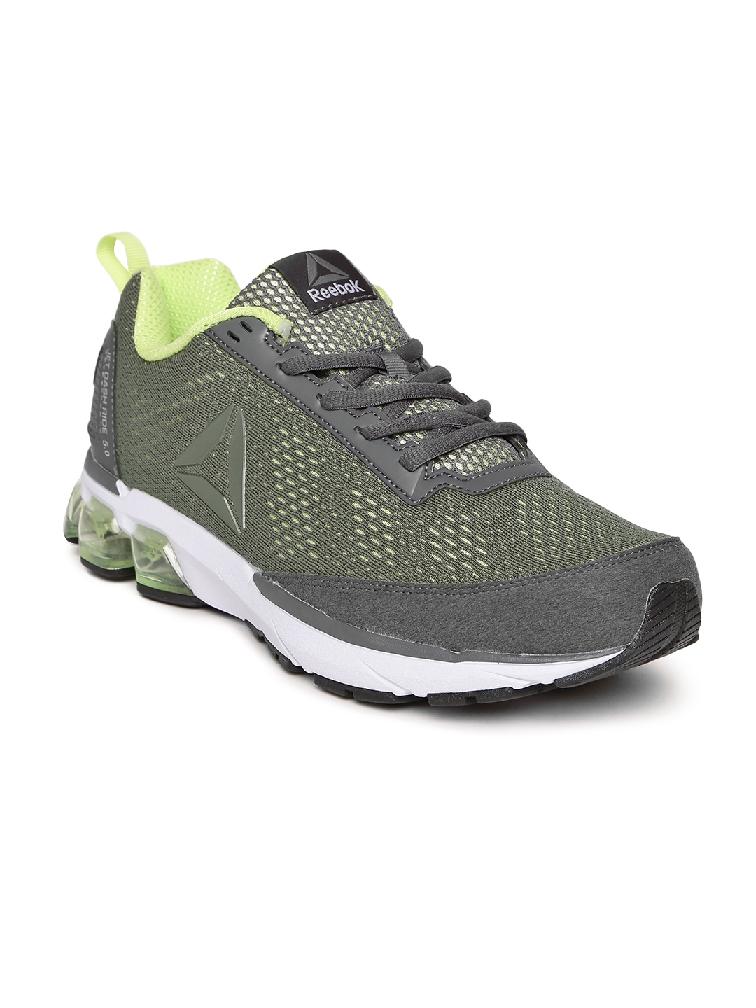 baa86263fa2a Buy Reebok Men Olive Green Jet Dashride 5.0 Running Shoes - Sports ...