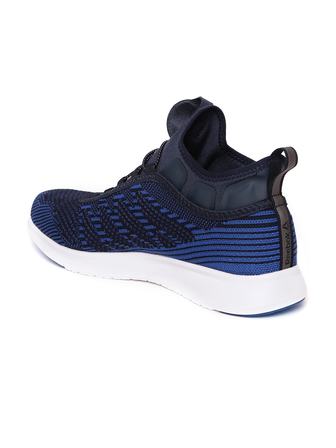Buy Reebok Men Blue Pump Plus Ultraknit Running Shoes - Sports Shoes ... 1309b4500