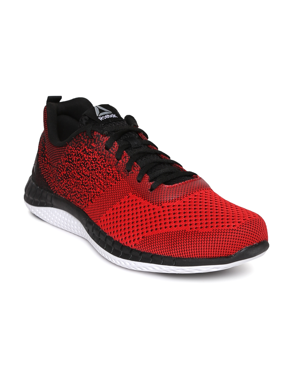 b77bba65edd Buy Reebok Men Red   Black PRINT RUN PRIME ULTK Running Shoes ...