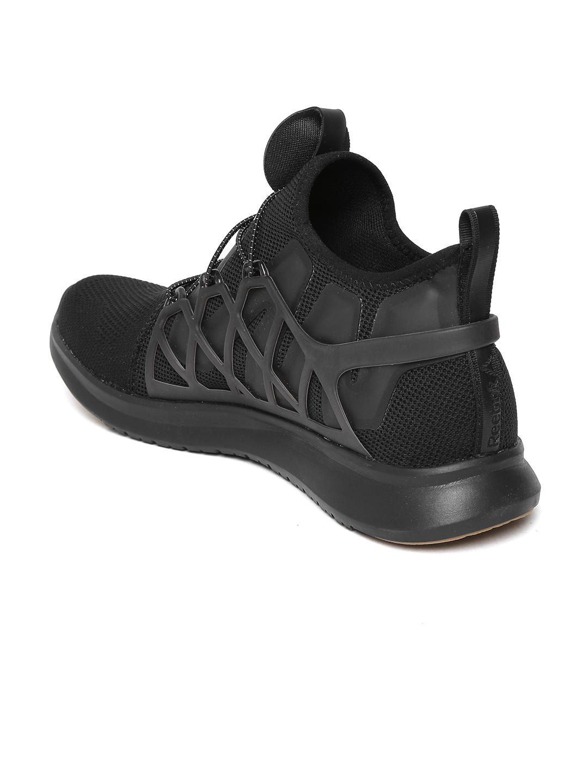 fe2d33e845ead7 Buy Reebok Men Black Pump Plus Cage Running Shoes - Sports Shoes for ...