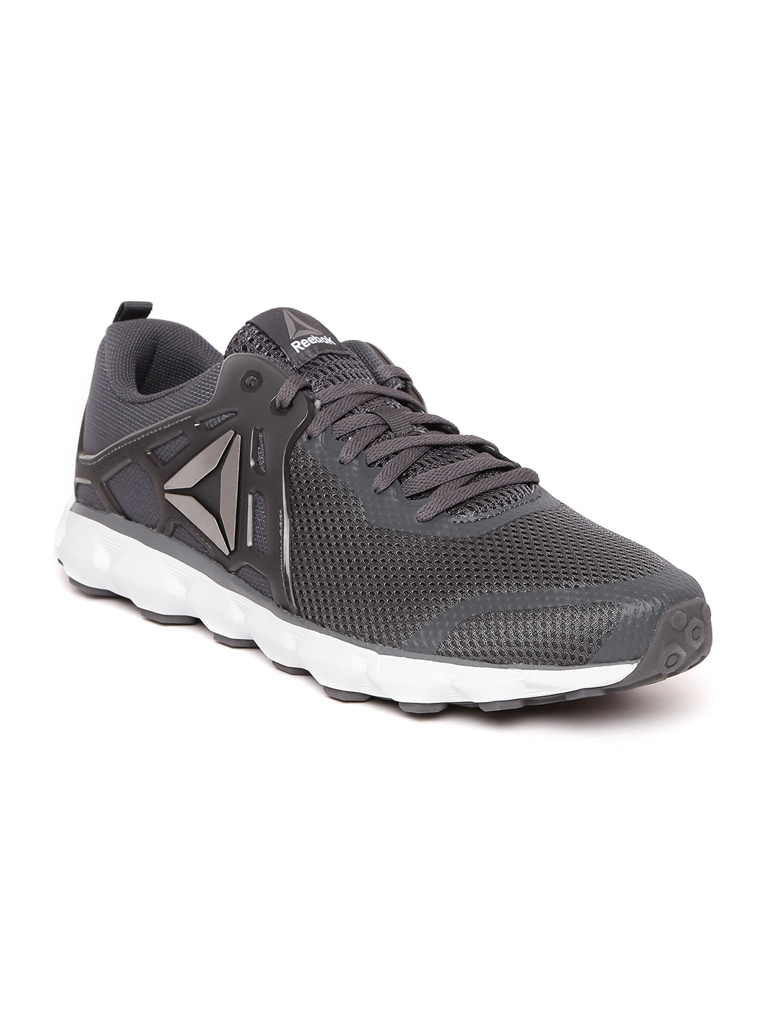 d8e534907569 Buy Reebok Men Grey Hexaffect 5.0 MTM Running Shoes - Sports Shoes ...