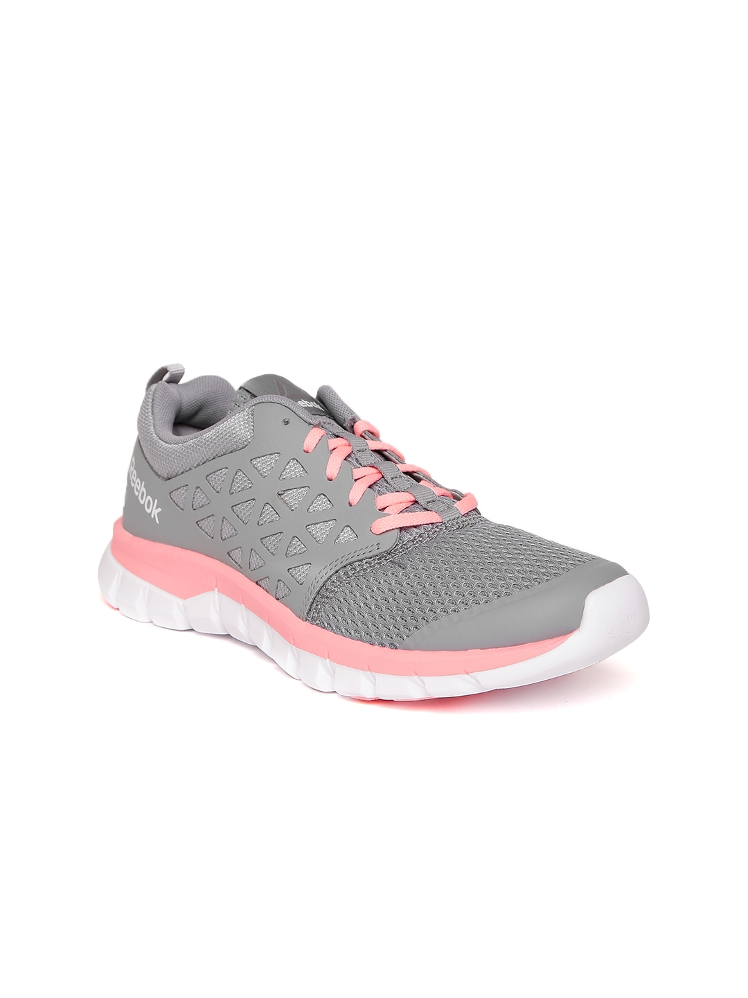 27612c176b34 Buy Reebok Women Grey Sublite XT Cushion 2.0 MT Leather Running ...
