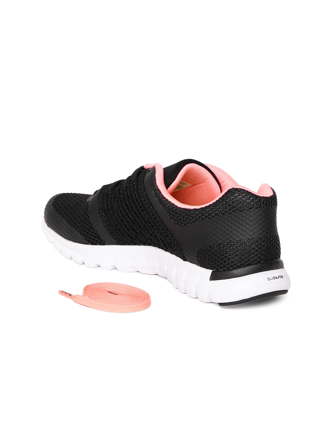 387ee35be60d Buy Reebok Women Black Sublite Transition Running Shoes - Sports ...
