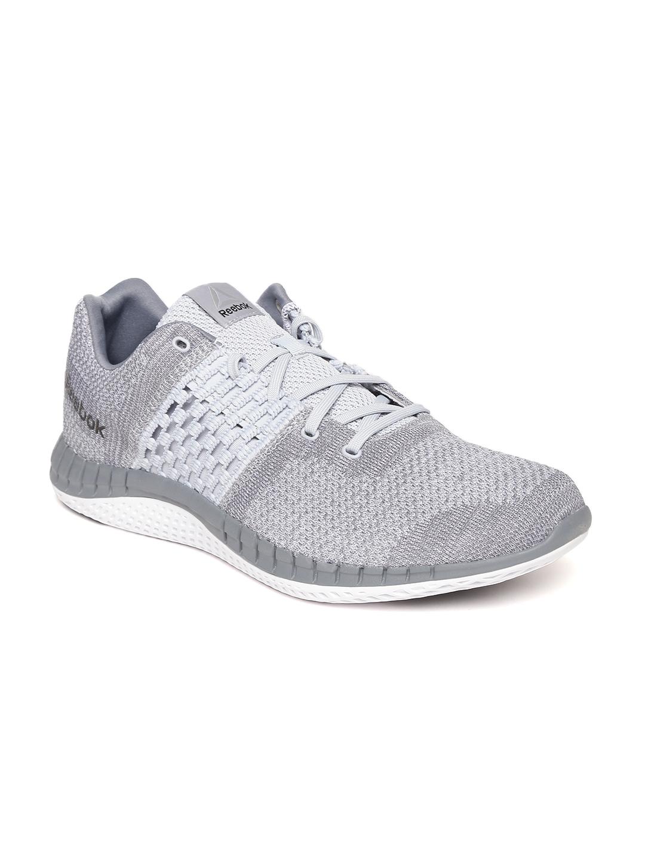 Buy Reebok Men Grey Melange ZPRINT Clean ULTK Running Shoes - Sports ... a1941d556