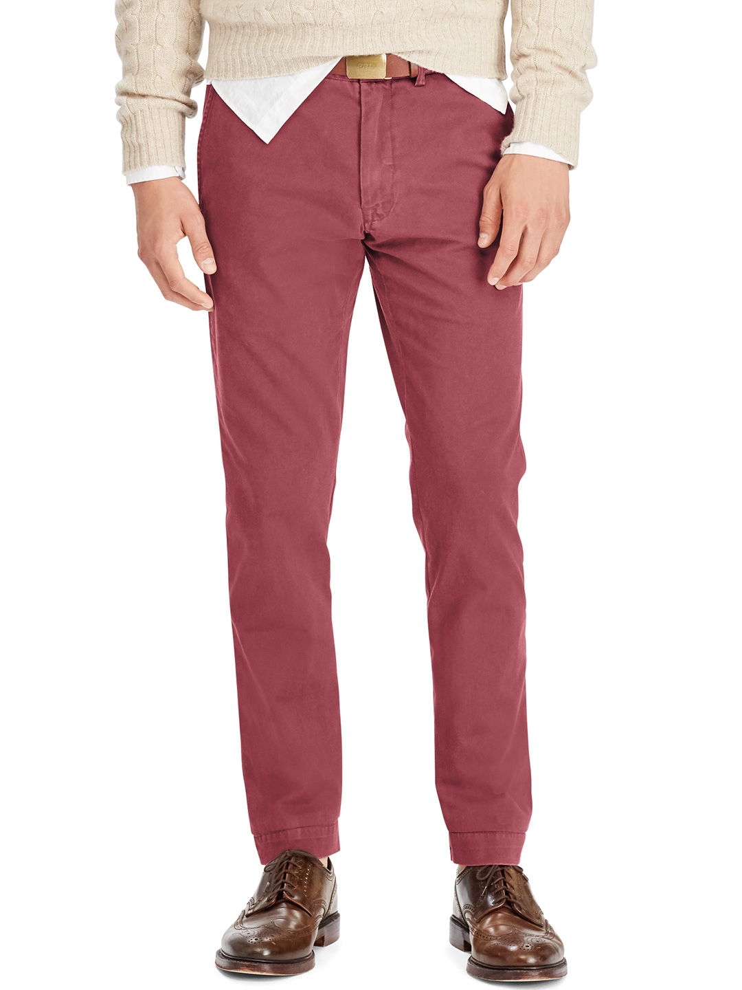 8a42afe9425a Buy Polo Ralph Lauren Slim Fit Cotton Chinos - Trousers for Men ...