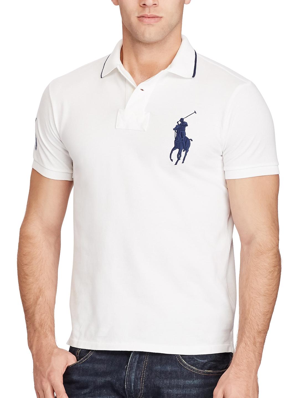 6a65ba3ffd30 Buy Polo Ralph Lauren Custom Fit Big Pony Polo Shirt - Tshirts for ...