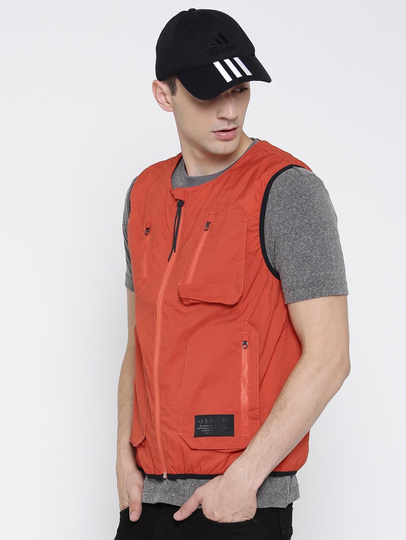 7d8ef0b52b1c2 Buy ADIDAS Originals Men Orange NMD UT VEST Padded Jacket - Jackets ...