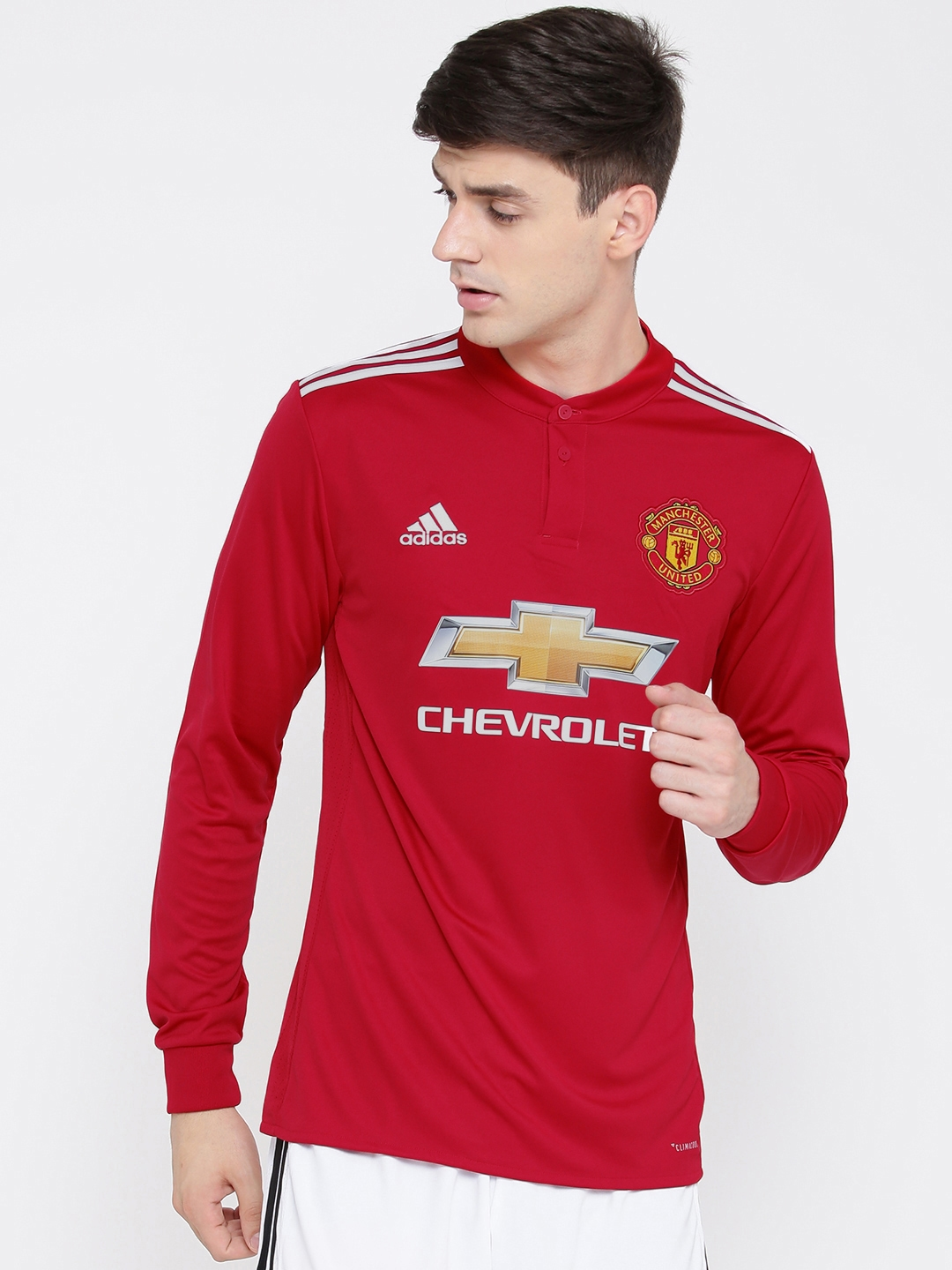 6a395e04 Buy Adidas Manchester United Men Red Home Jersey - Tshirts for Men ...