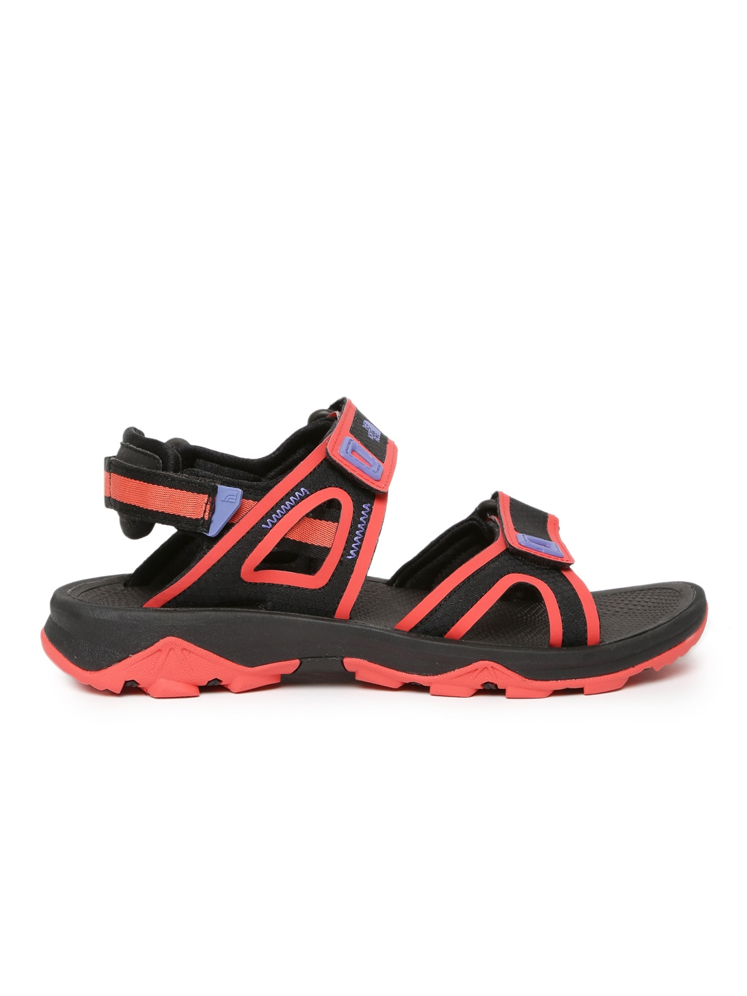 0e6a924f4 Buy The North Face Women Red & Black BASE CAMP HEDGEHOG II Sports ...