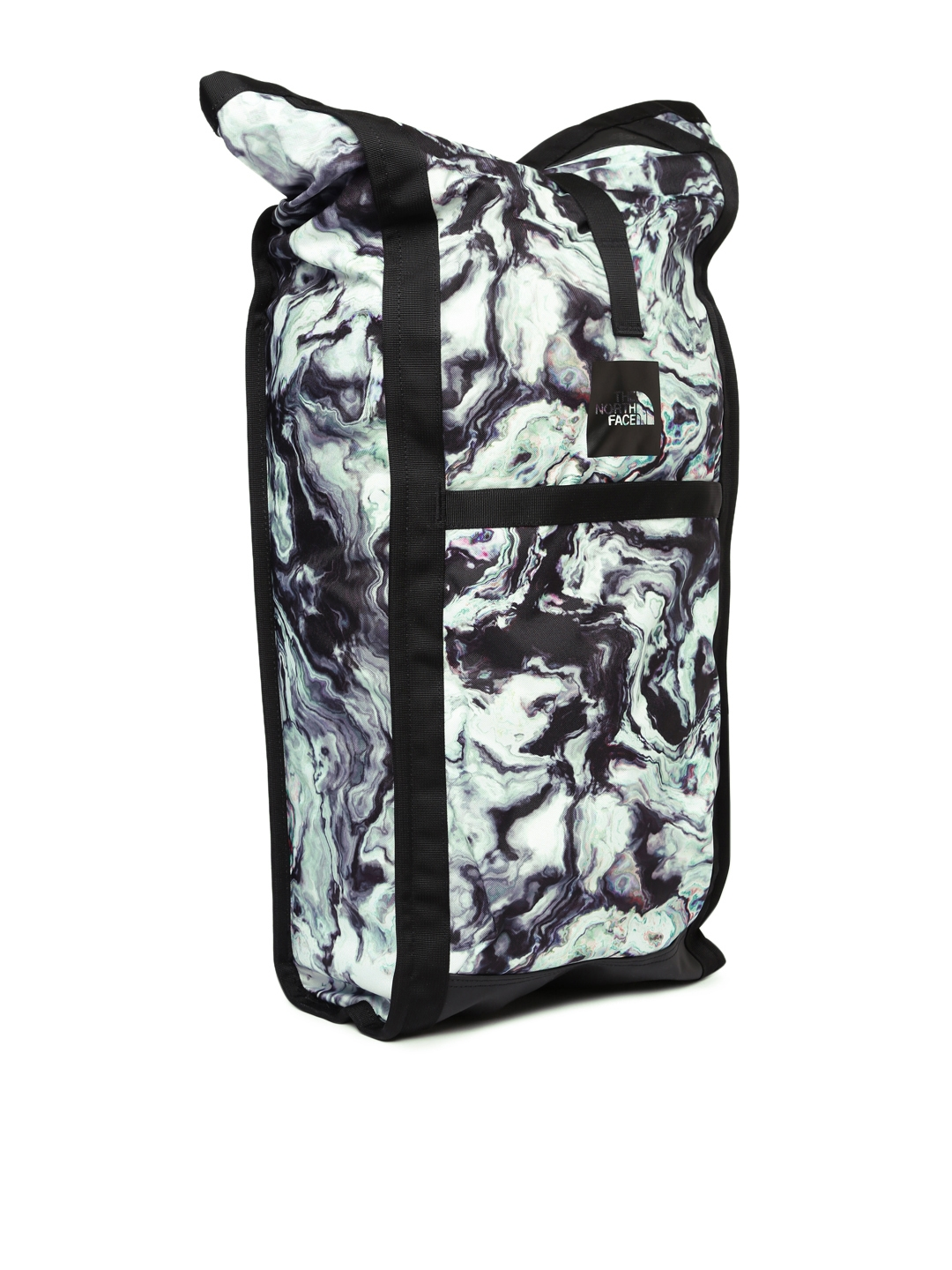 82f9b7e9a253 The North Face Unisex Grey   Black HOMESTEAD WATERPROOF Graphic Backpack