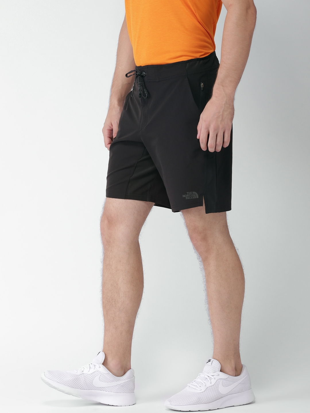e61729fd8 Buy The North Face Men Black Solid Asian Fit Sports Shorts - Shorts ...