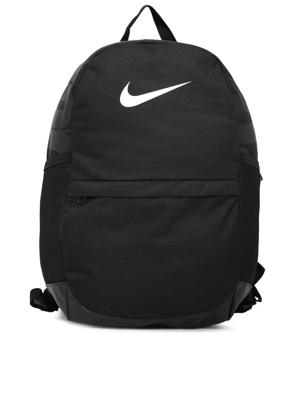 Buy Nike Unisex Black Brand Logo Backpack - Backpacks for Unisex ... 606e9a239