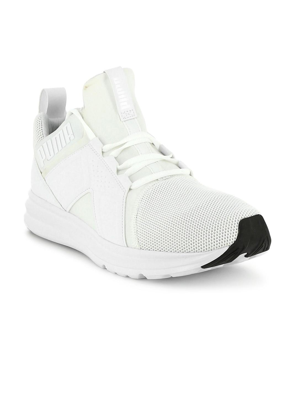 65ced46c7b4c75 Buy Puma Men White Enzo Mesh Running Shoes - Sports Shoes for Men ...