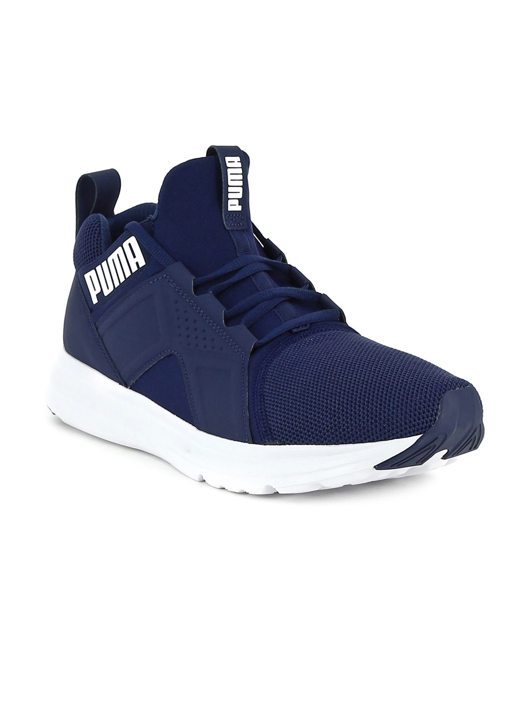 79a16fedb2b Buy Puma Men Navy Enzo Mesh Running Shoes - Sports Shoes for Men ...
