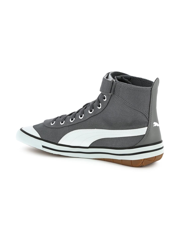 Buy Puma Unisex Grey 917 FUN Mid IDP Mid Top Sneakers - Casual Shoes ... 808de1f1c