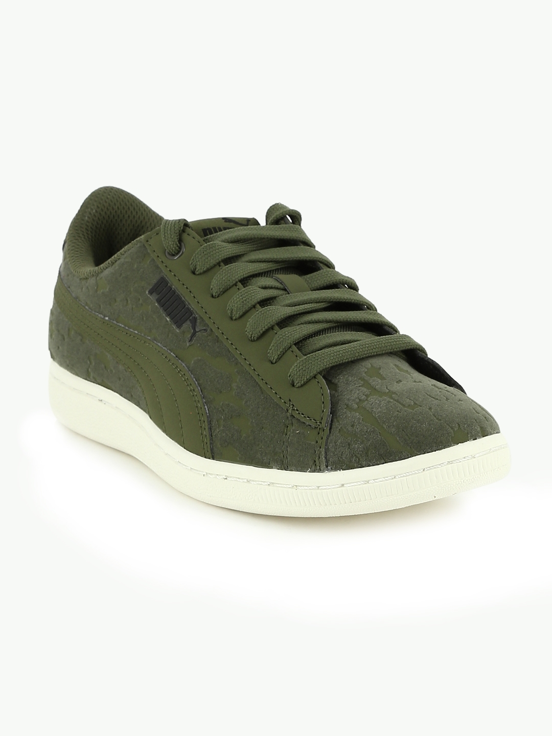 9da25a906fa0 Buy Puma Women Olive Green Vikky VR Sneakers - Casual Shoes for ...