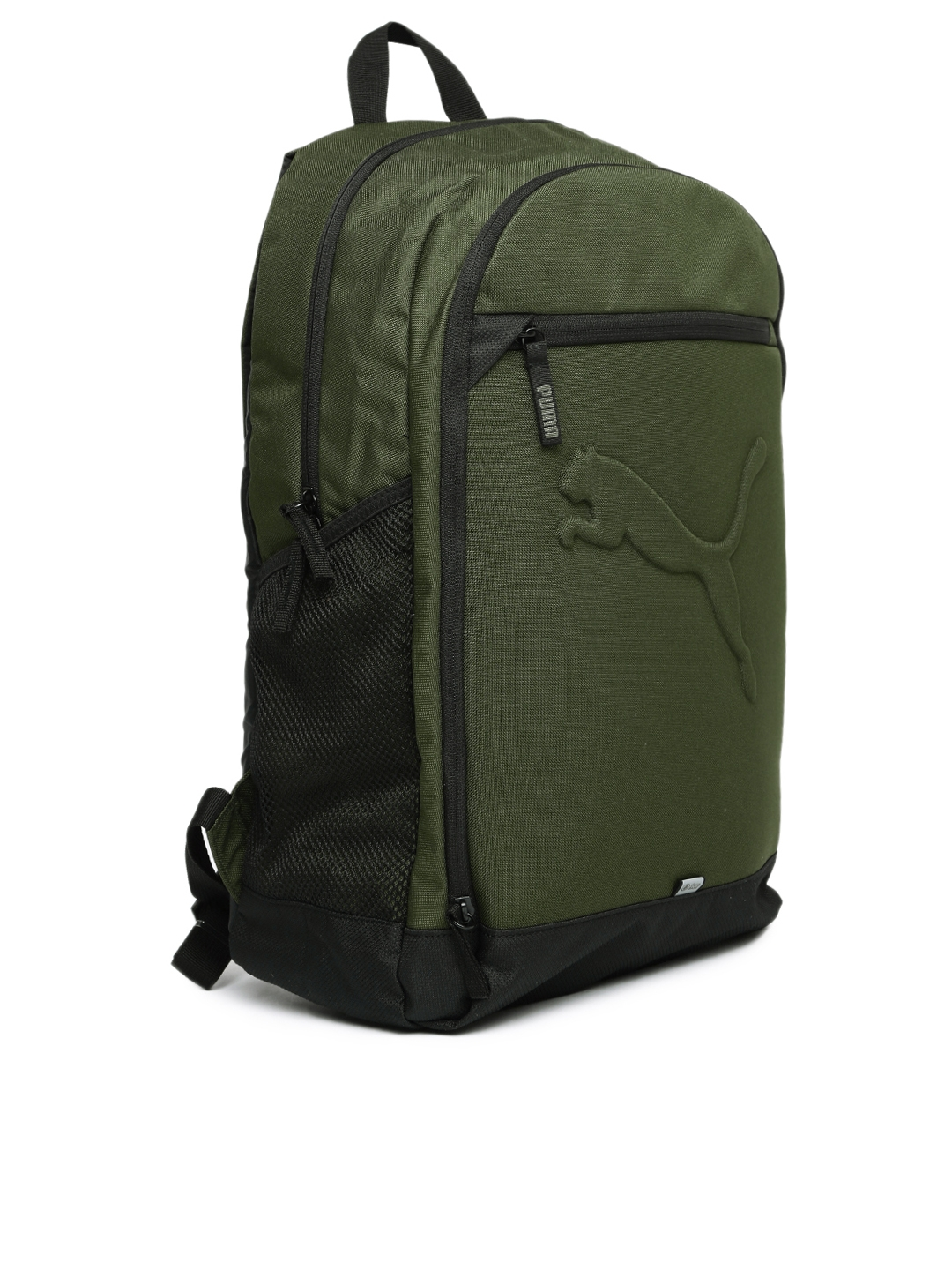 Buy Puma Unisex Olive Green Buzz Backpack - Backpacks for Unisex ... 5e5d6c09a9bcf