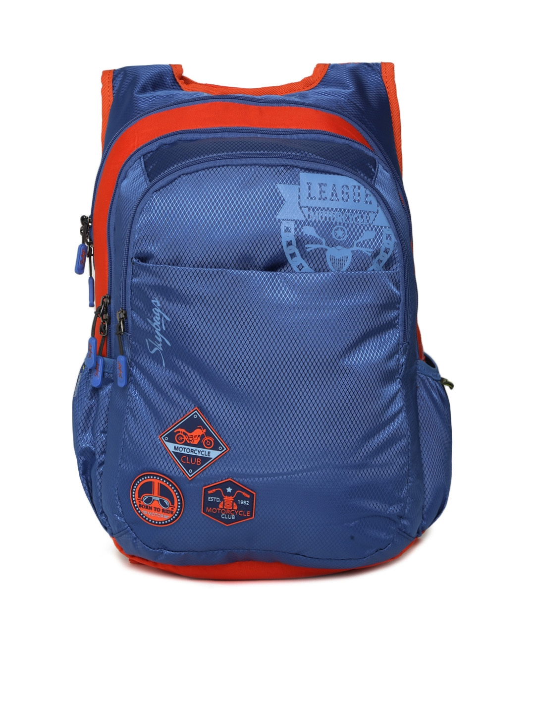 cdf373b862e0 Buy Skybags Unisex Blue FOOTLOOSE BLITZ 04 Graphic Backpack ...