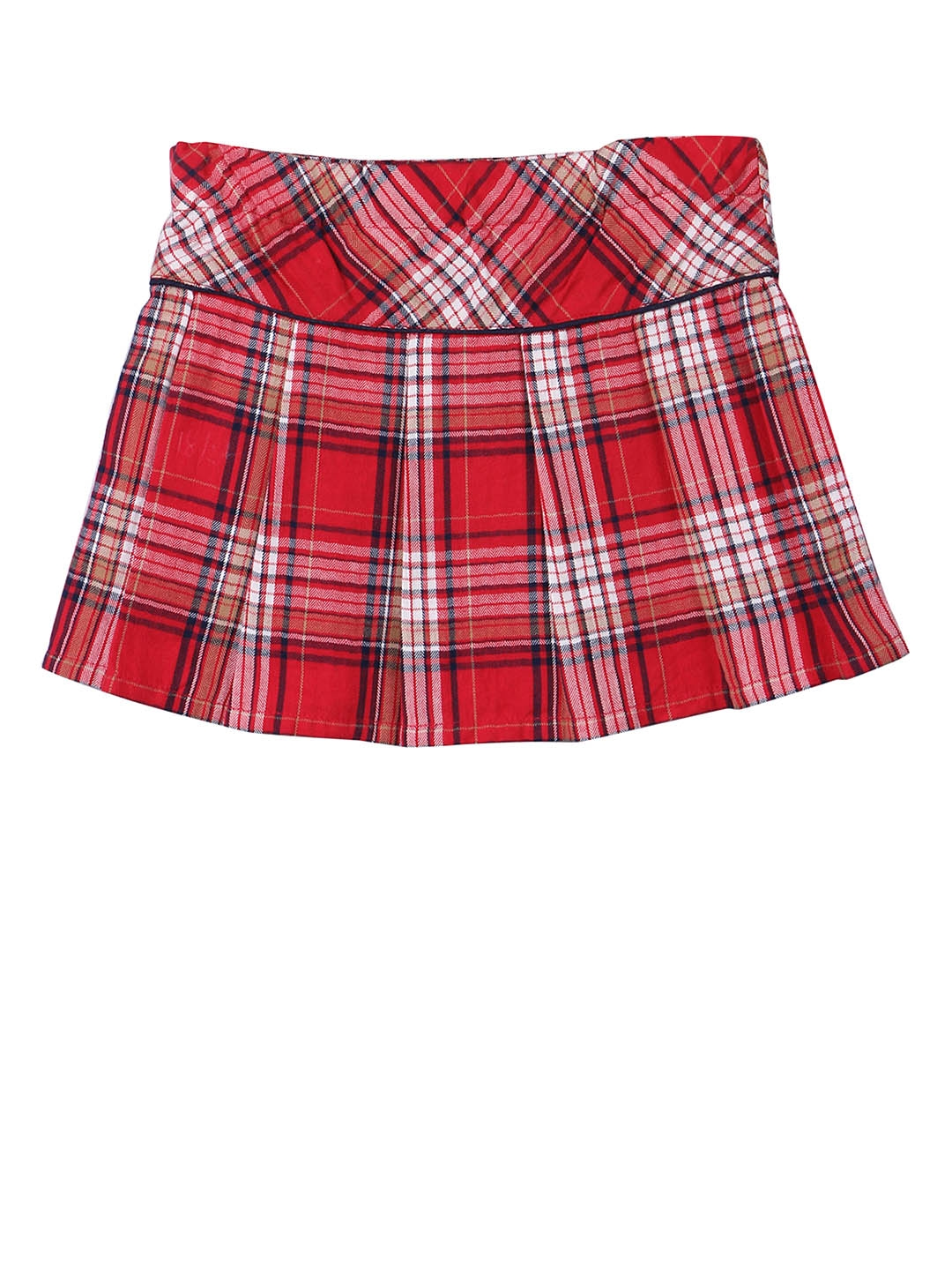 8623bf1219 Buy Beebay Girls Red & White Checked A Line Skirt - Skirts for Girls ...