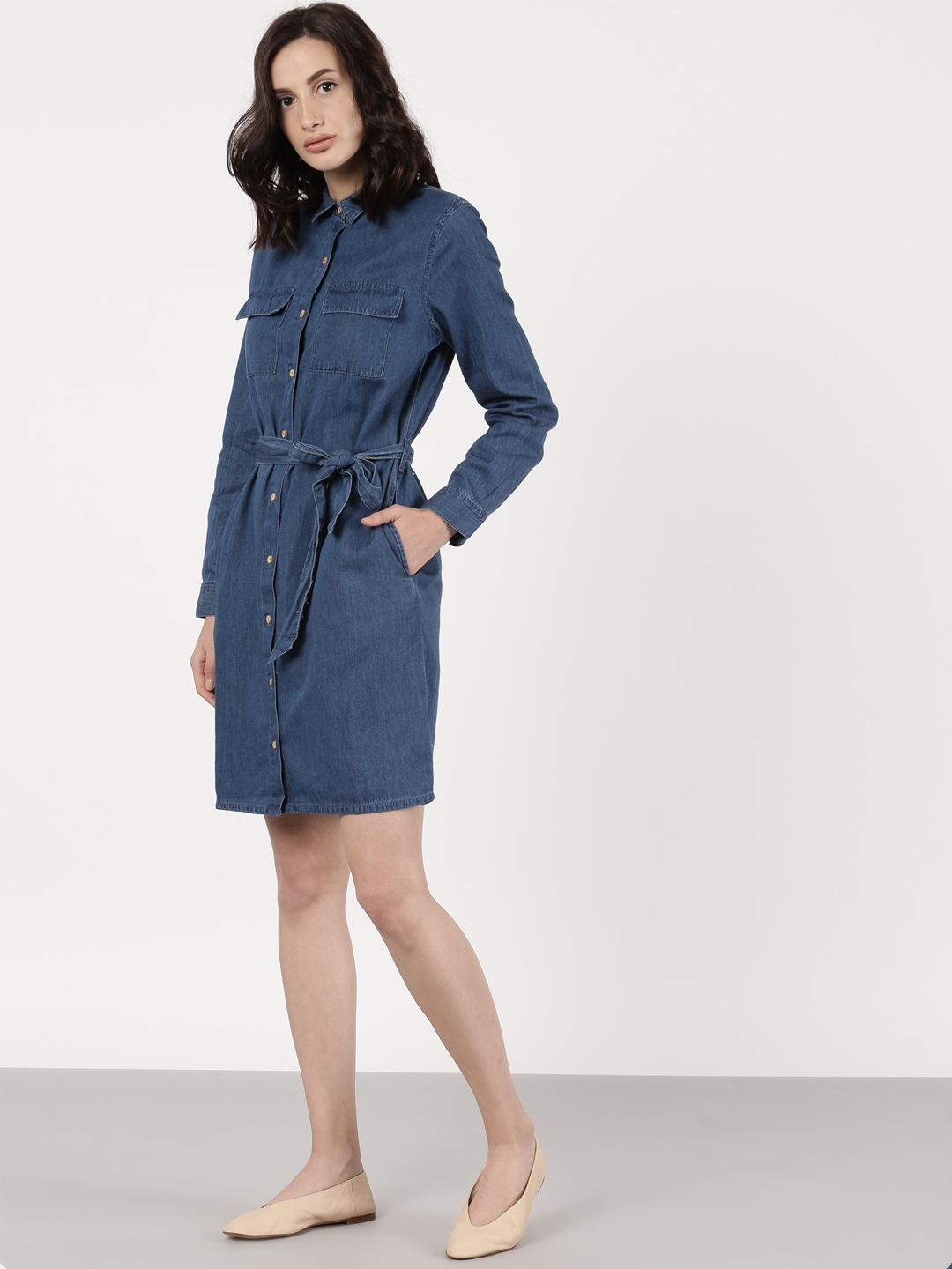 570cfb02eea Denim Shirt Dress With Pockets - Ortsplanungsrevision Stadt Thun