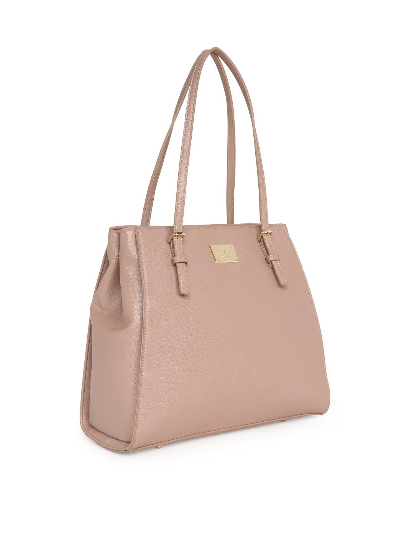 905ac7a2466d3e Buy Van Heusen Woman Pink Solid Shoulder Bag - Handbags for Women ...