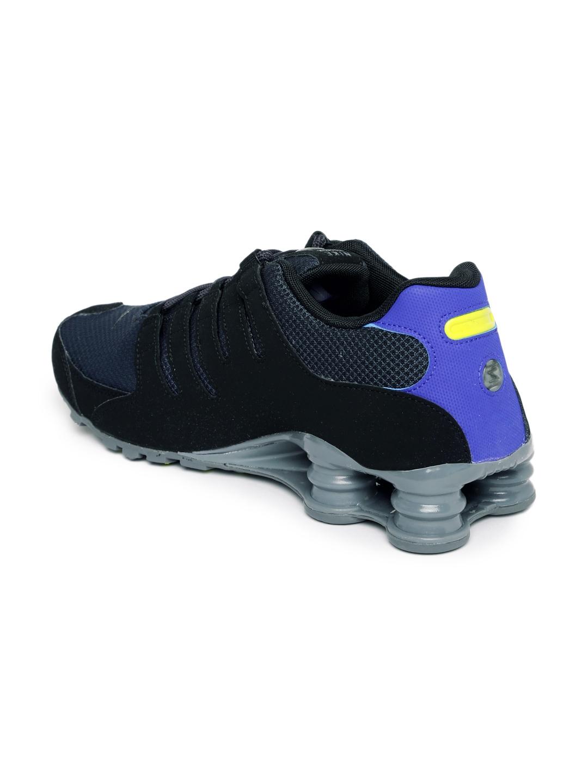 Buy Nike Men Black SHOX NZ SE Sneakers - Casual Shoes for Men ... 71c692798