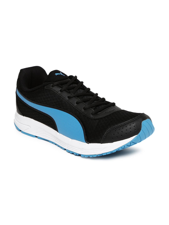 2a9e20cb572 Buy Puma Men Black Rapple Running Shoes - Sports Shoes for Men ...