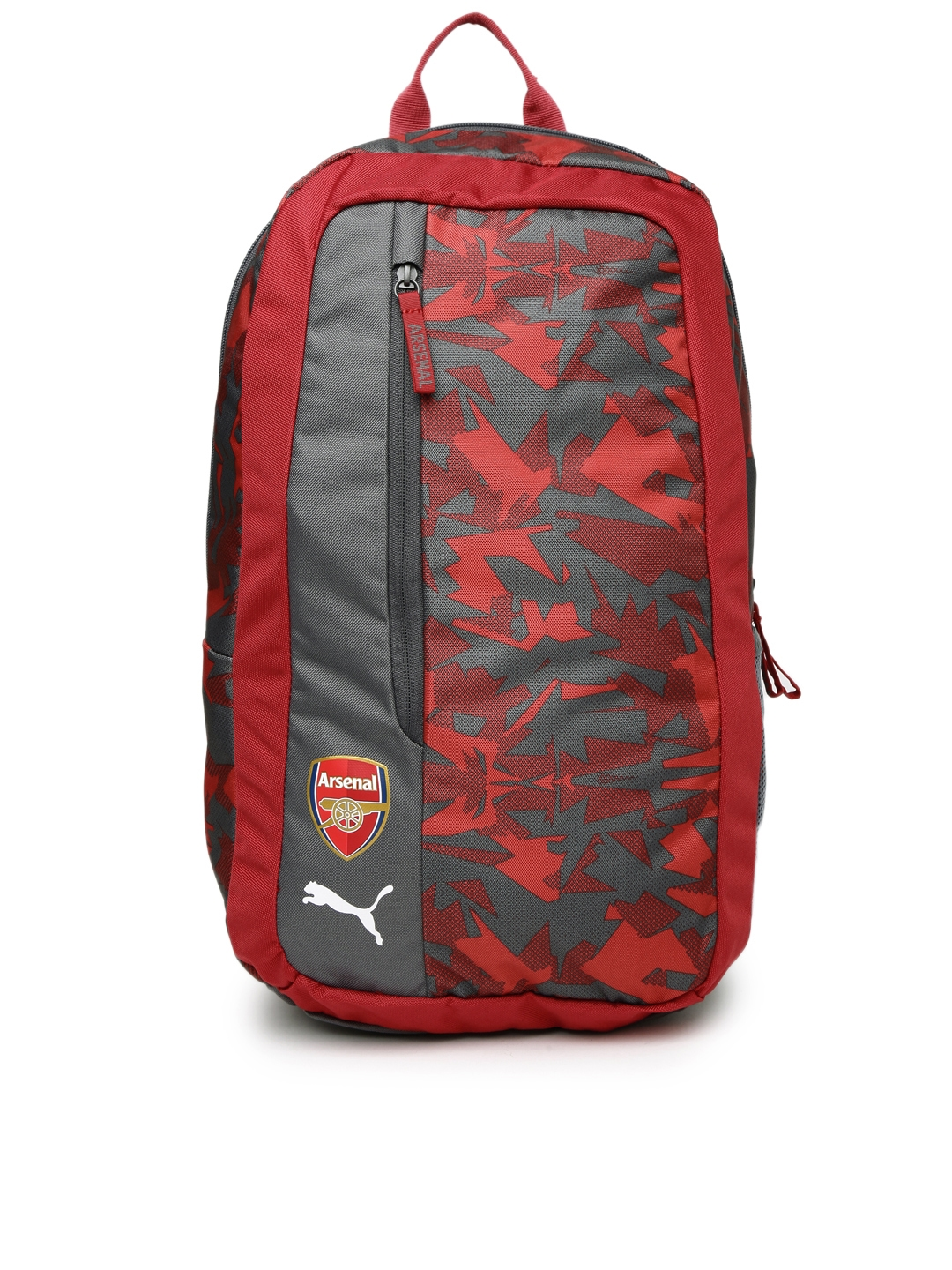 5cc86a7fbd6f Buy Puma Unisex Red   Grey Printed Arsenal Camo Fanwear Backpack - Backpacks  for Unisex 2030594