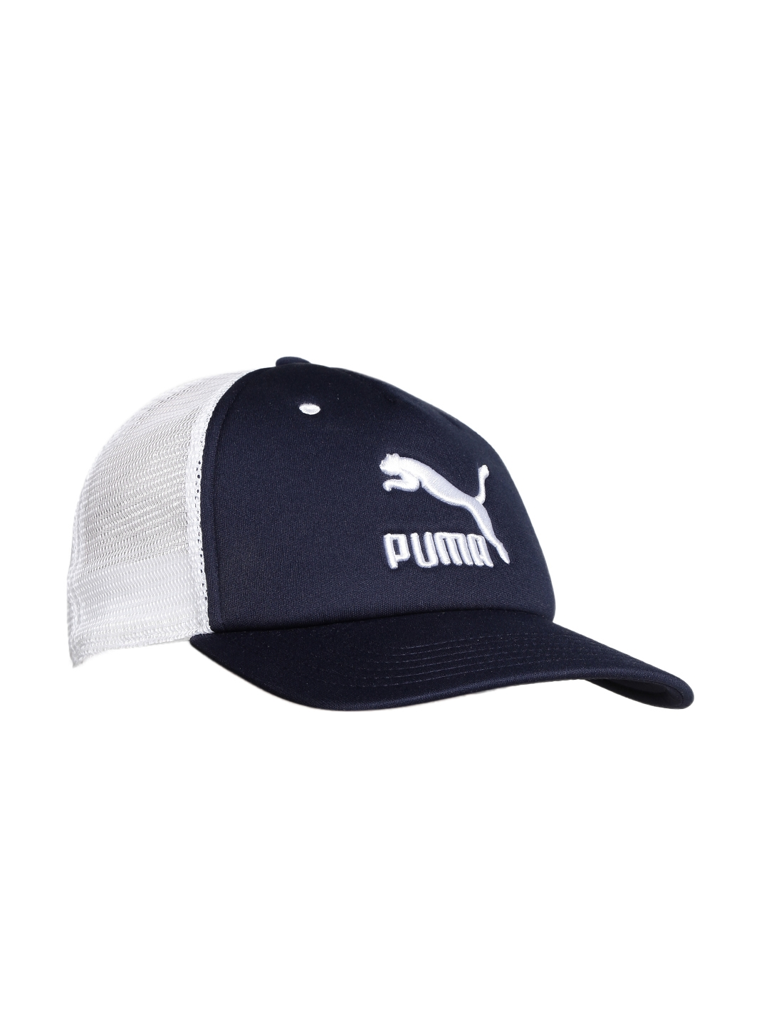 cd541340b7b Buy Puma Unisex White   Navy ARCHIVE Trucker Cap - Caps for Unisex ...