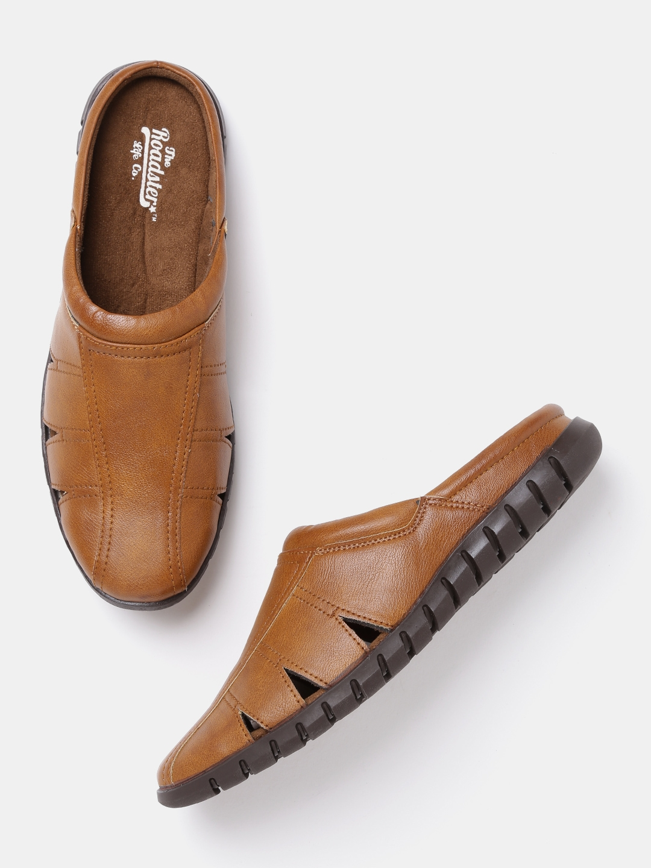 Buy Roadster Men Brown Sandals - Sandals for Men 2037655  3f46c78bf860