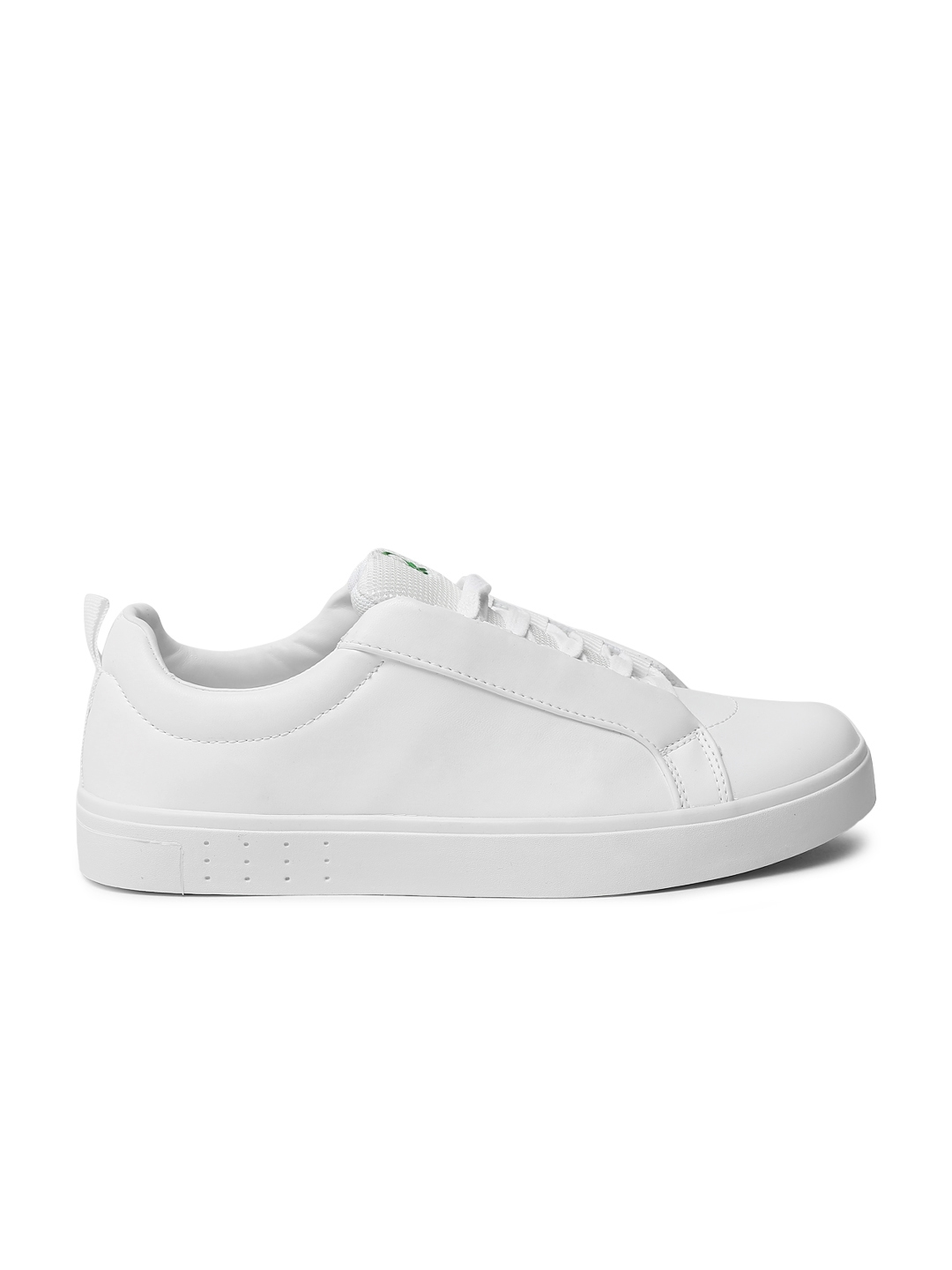 43c6cd06747 Buy United Colors Of Benetton Men White Sneakers - Casual Shoes for ...