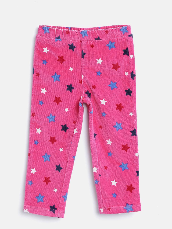 3e4d911e67e272 Buy United Colors Of Benetton Girls Pink Star Print Jeggings ...