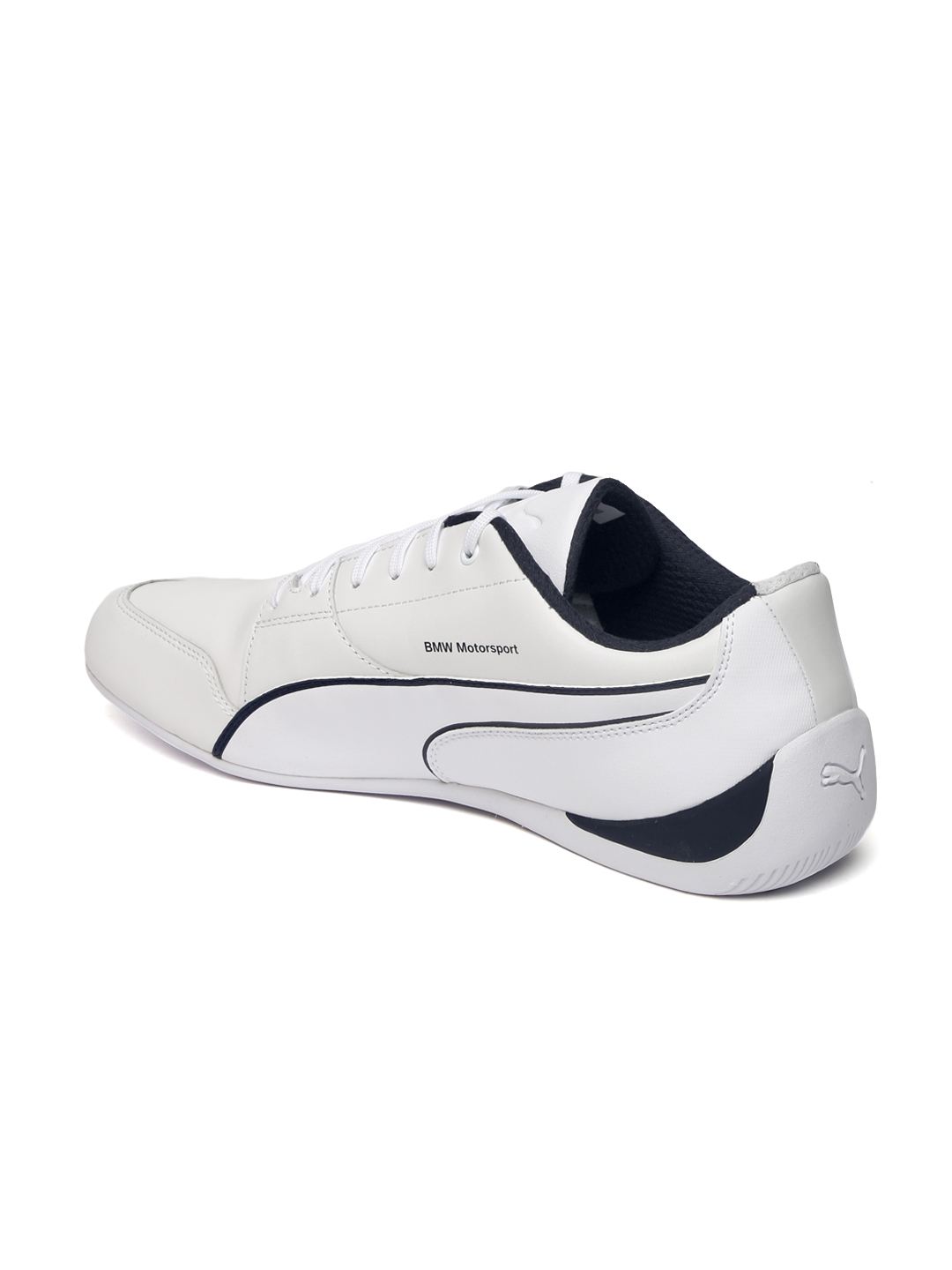 Buy Puma Unisex White BMW MS Drift Cat 7 Sneakers - Casual Shoes for ... 8a065b38b