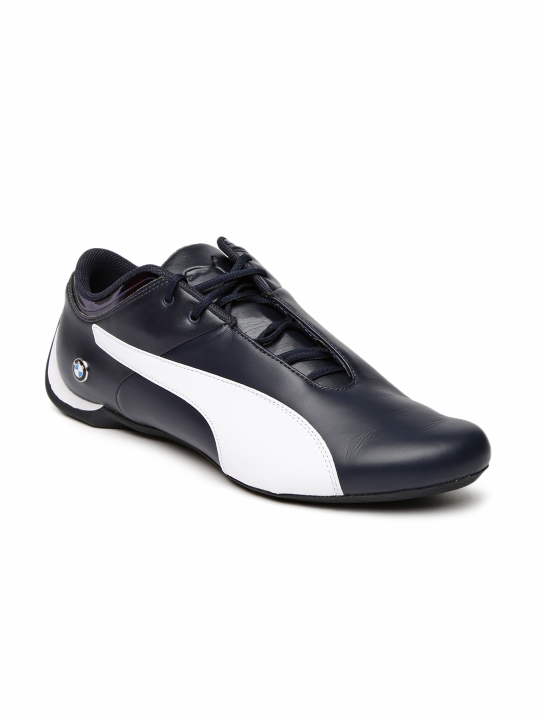 2aaa95b5a6b07 Buy Puma Unisex Navy BMW MS Future Cat Sneakers - Casual Shoes for ...
