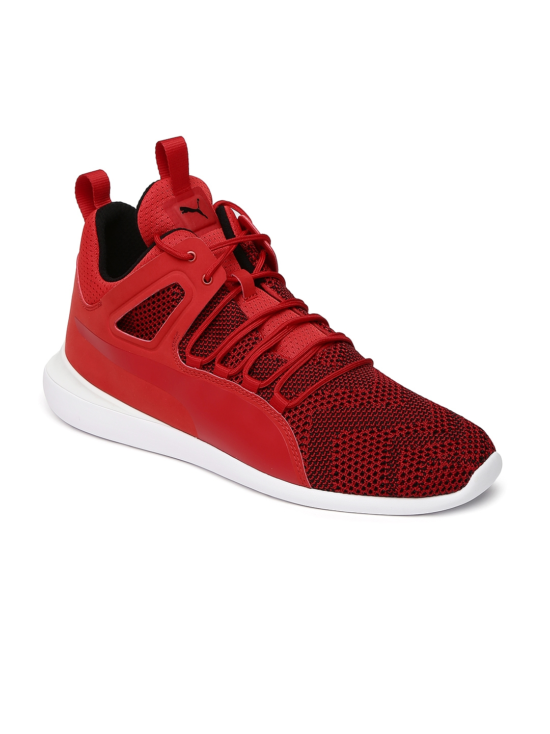 58a5ea59014 Buy Puma Men Red SF Evo Cat Mid Top Sneakers - Casual Shoes for Men ...