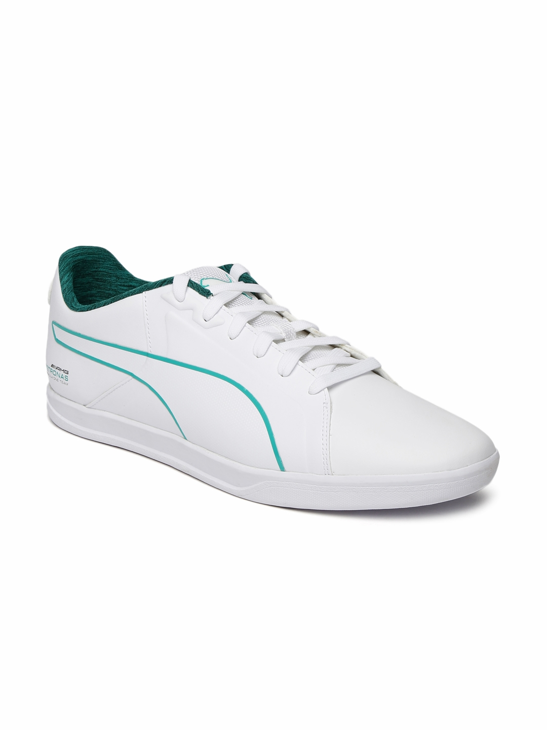 e1ea5b25bc1 Buy Puma Men White MAMGP Court Sneakers - Casual Shoes for Men ...