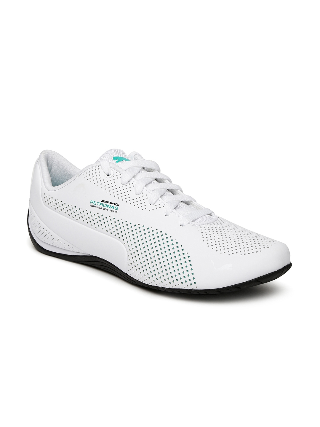 8d3043b502122f Buy Puma Unisex White Mercedes Drift Cat Sneakers - Casual Shoes for ...