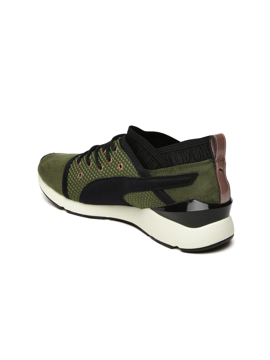 08b7f99f31af Buy Puma Women Olive Green Pearl VR Sneakers - Casual Shoes for ...