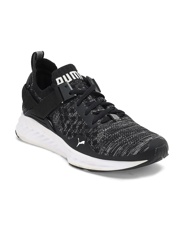 7f57385bc7aaf Buy Puma Women Black IGNITE EvoKNIT Lo Wn s Running Shoes - Sports ...