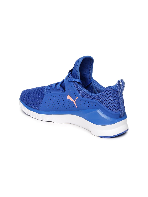 best loved ef91f 94321 Buy Puma Women Blue Fierce Lace Core Training Shoes - Sports ...