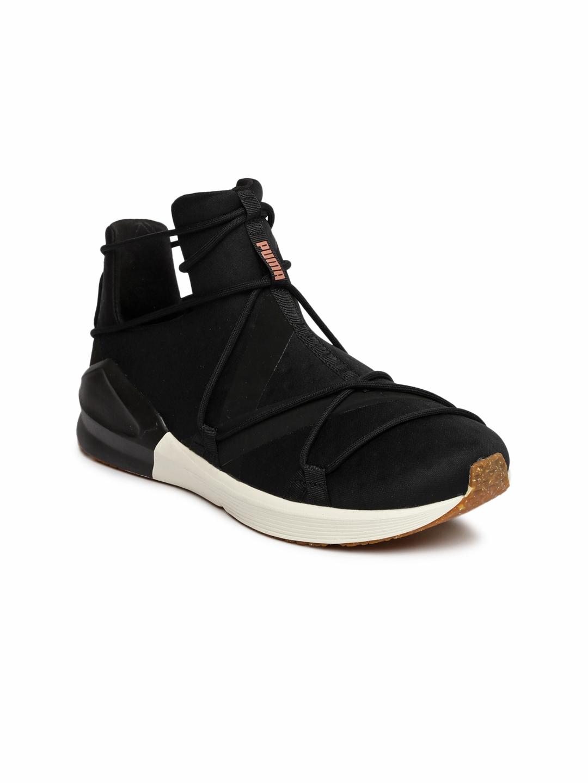 3e81255cc6bbf7 Buy Puma Women Black Fierce Rope VR Training Shoes - Sports Shoes ...