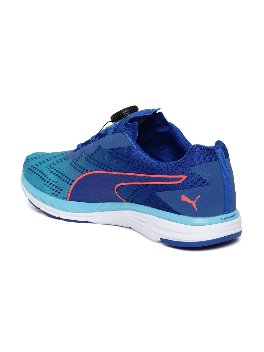 2bac4816b4c Puma Unisex Blue Speed 500 IGNITE DISC 2 Running Shoes