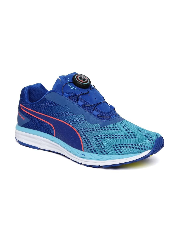 Puma Unisex Blue Speed 500 IGNITE DISC 2 Running Shoes 031f32593